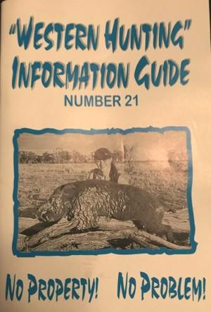 Western Hunting Information Guide 21