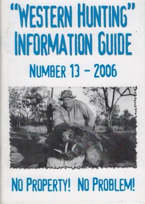 Western Hunting Information Guide 13
