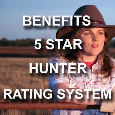 Benefits of 5 Star Hunter Rating System