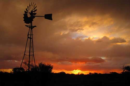 Australian Hunting Property Windmill