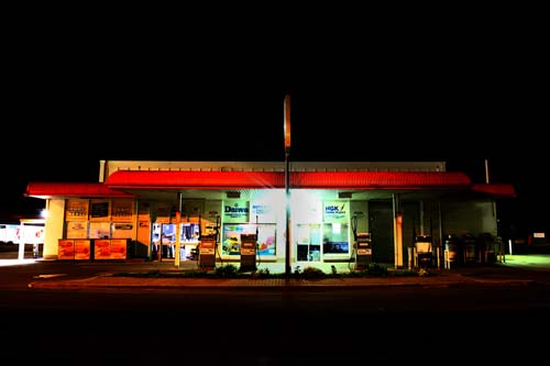 Australian Petrol Station and Roadhouse