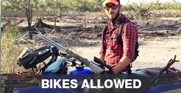 Hunting Properties that allow motorbikes