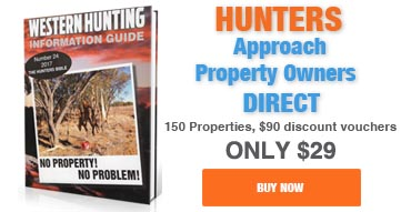Buy the Western Hunting Information Guide