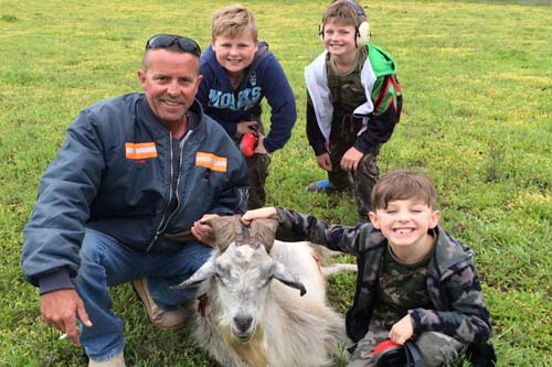 Family Hunting Goats in Australia