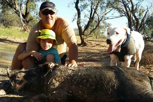 Pig Hunting Holiday in Outback Queensland