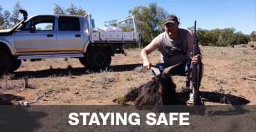 Staying safe when hunting