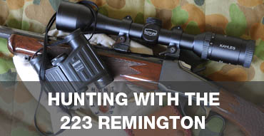 hunting with the 223 remington