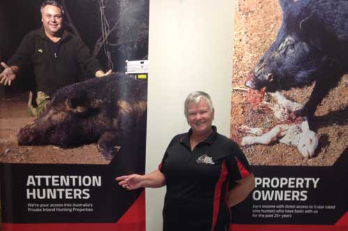 Kerrie Eggins - owner of Inland Hunting Properties