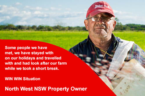 Nort-West New South Wales Hunting Property Owner