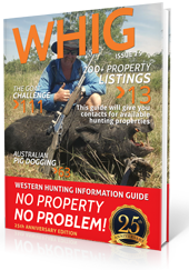 Buy the WHIG Book - Western Hunting Information Guide
