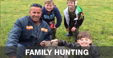 Family Hunting Camping Trips