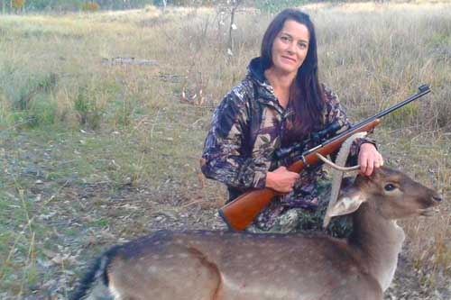 Tamara Crossingham Deer Hunting