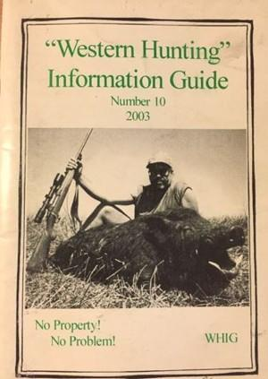 Western Hunting Information Guide 10