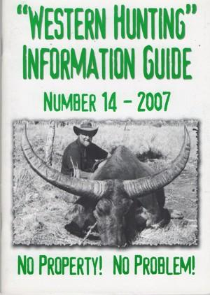 Western Hunting Information Guide 14