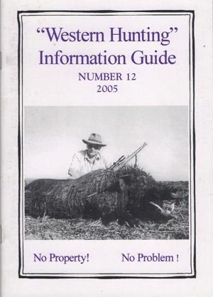 Western Hunting Information Guide 12