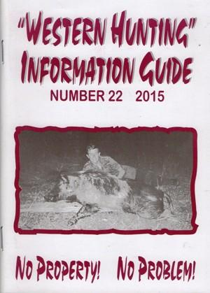 Western Hunting Information Guide 22