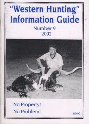 Western Hunting Information Guide 9