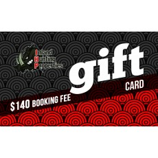 $140 Booking Fee Gift Card