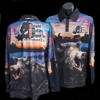 IHP Long Sleeve Sublimated Polo Hunting Shirt